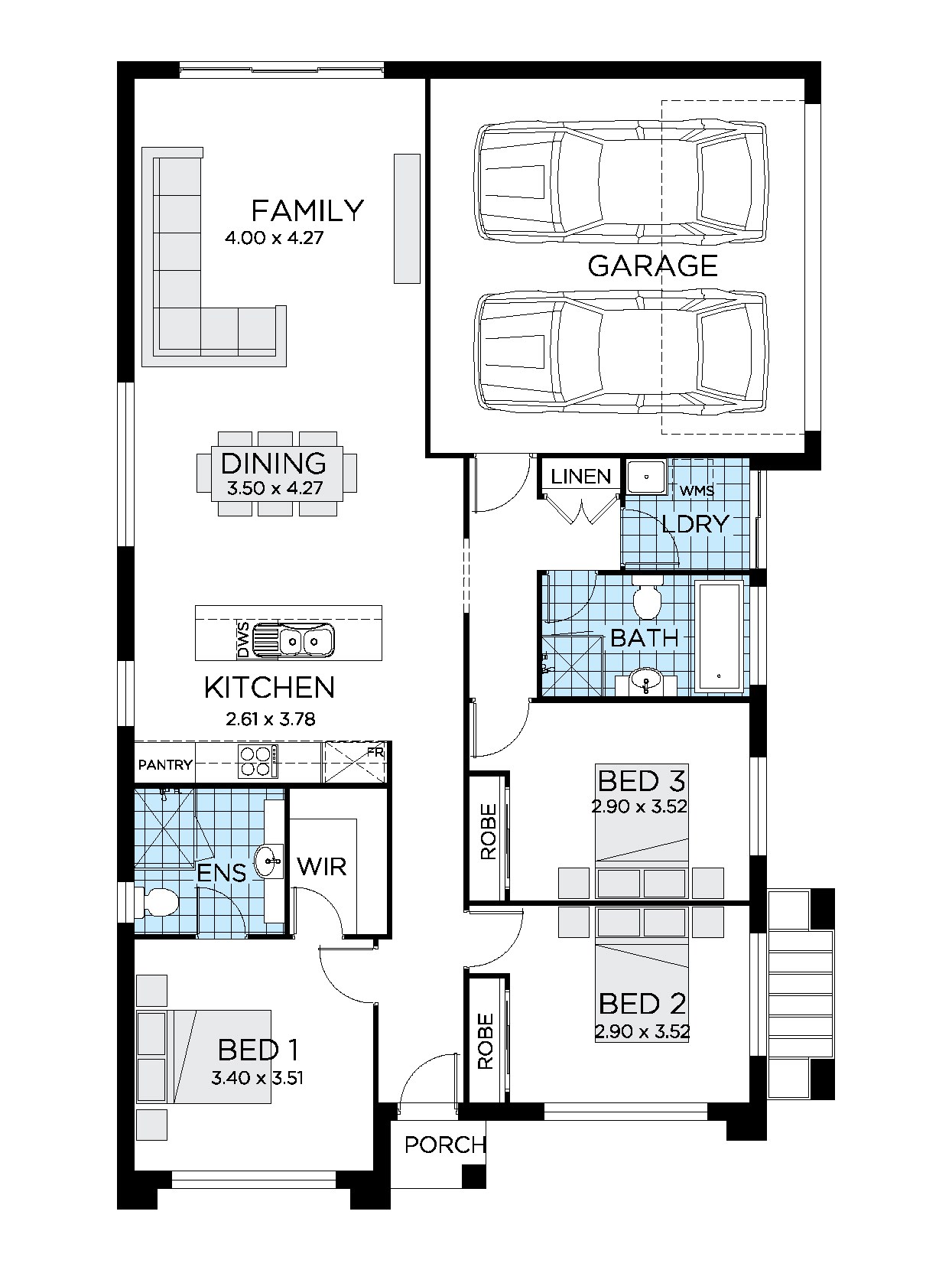 Thrive Homes Crescent 17 Home Design Floor Plan