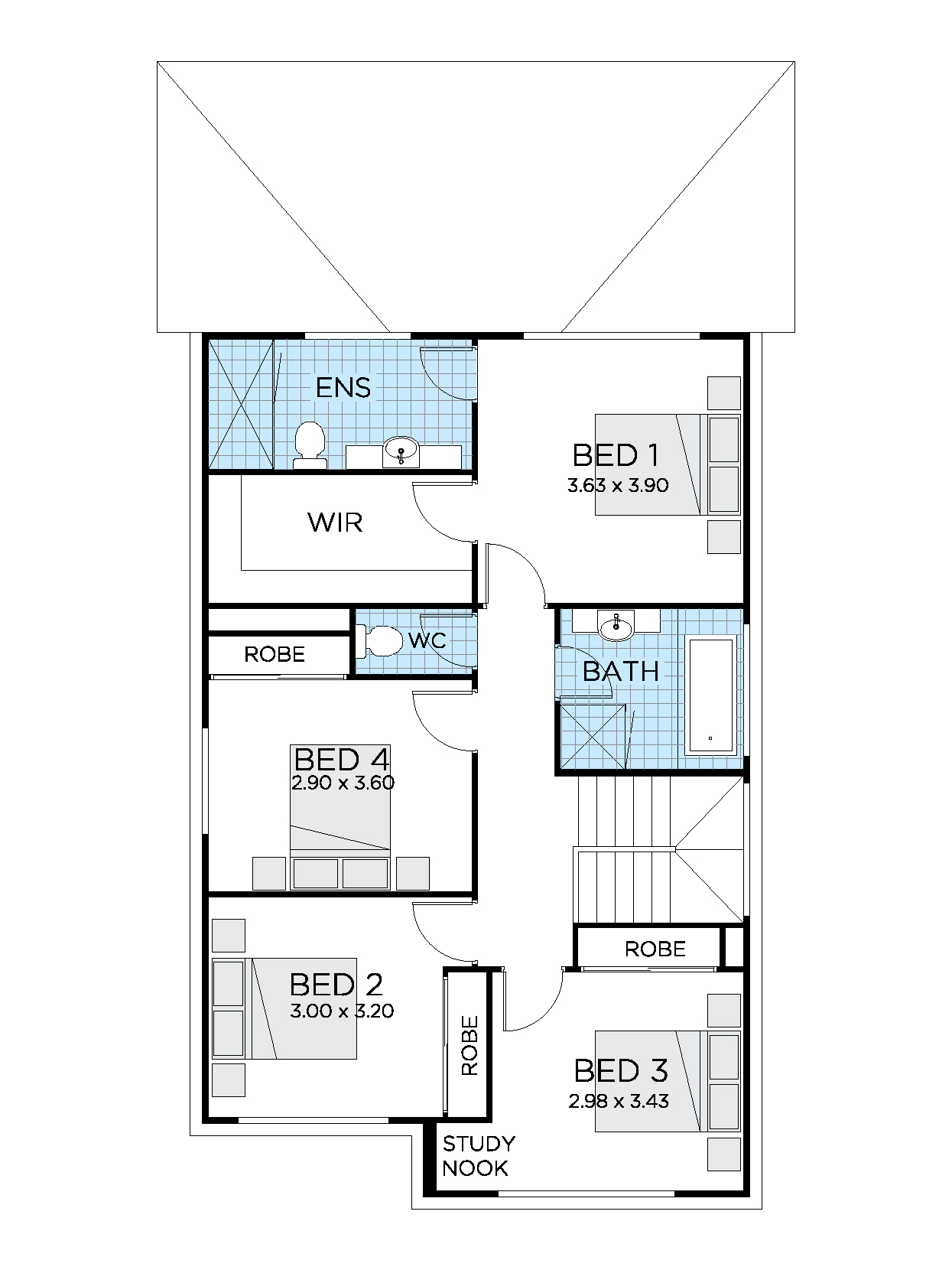 Thrive Homes Essence 22 First Floor Plan
