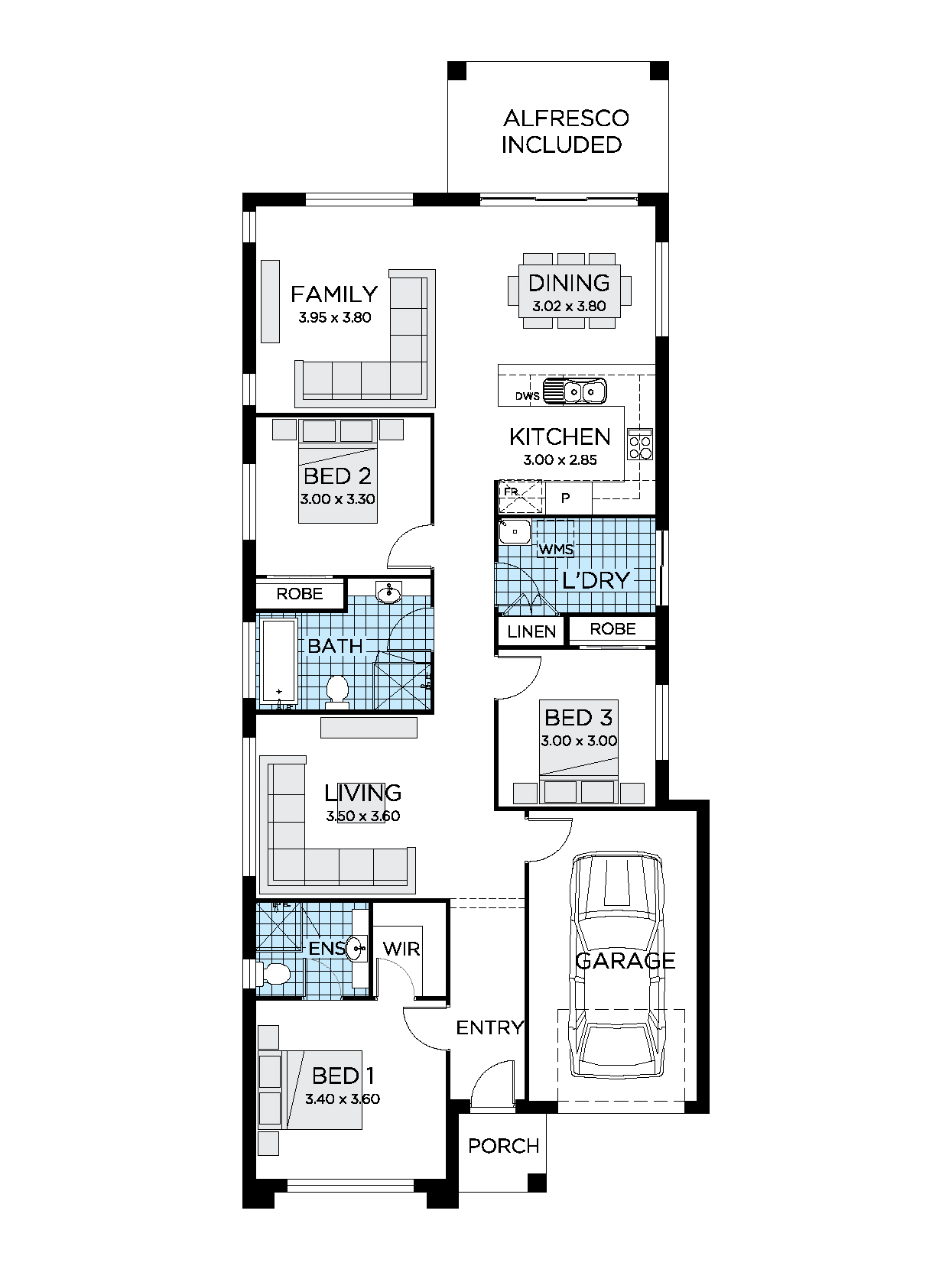 Thrive Homes Haven 18 Floorplan