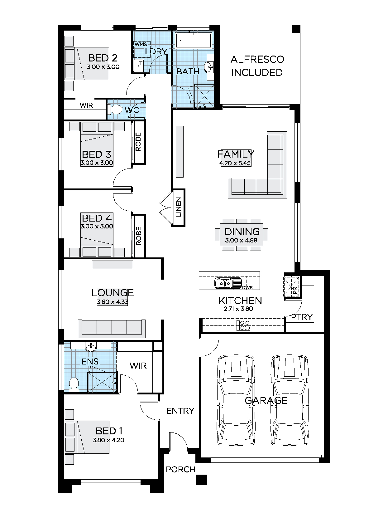 Thrive Homes Helix 24 Home Design Floor Plan
