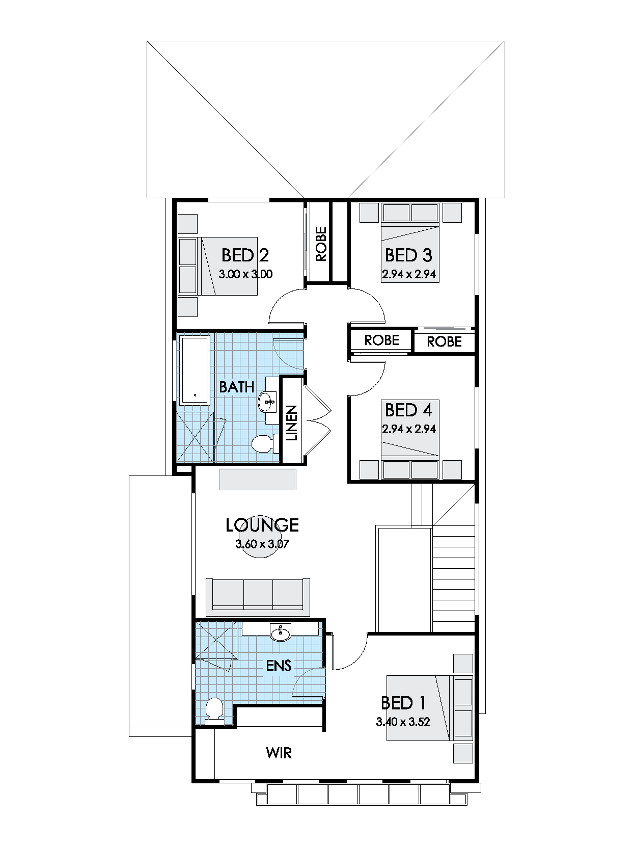 Thrive Homes Onyx 24 First Floor Plan