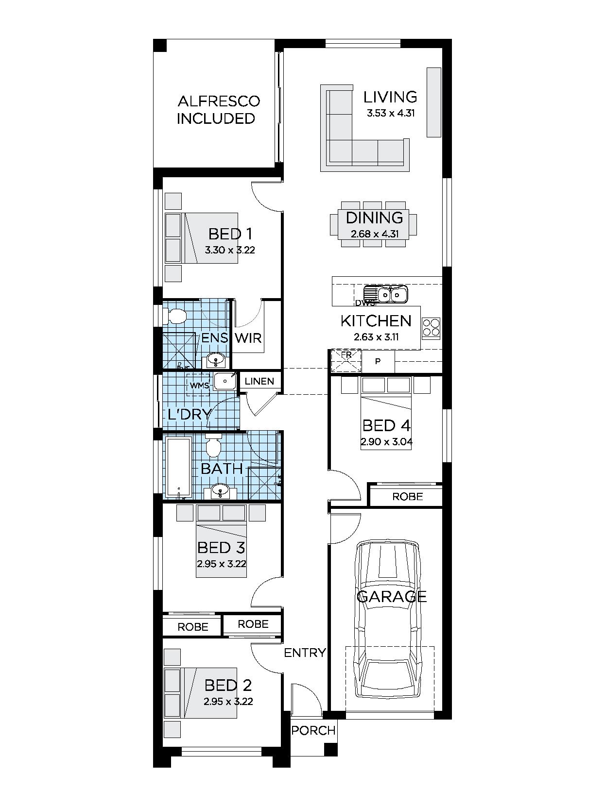 Home Designs | 3-5 Bedroom Modern House Designs | Thrive Homes on new house design plans, floating dock plans, biltmore estate elevation plans, vardo camper plans,