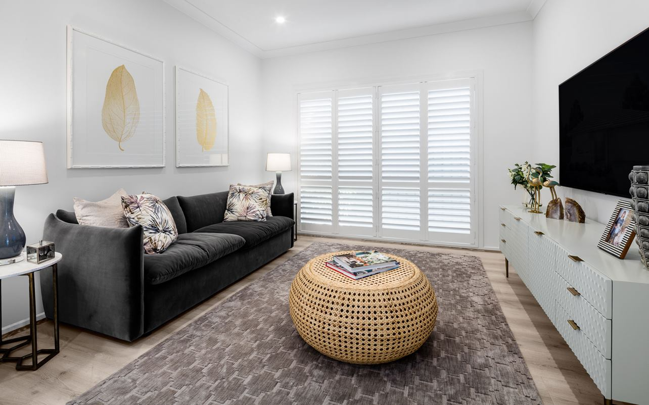 Thrive Homes Elara Display Lounge Room