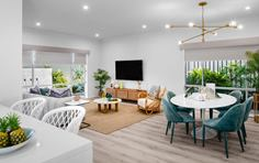 Thrive Homes Elara Display Home Living Space