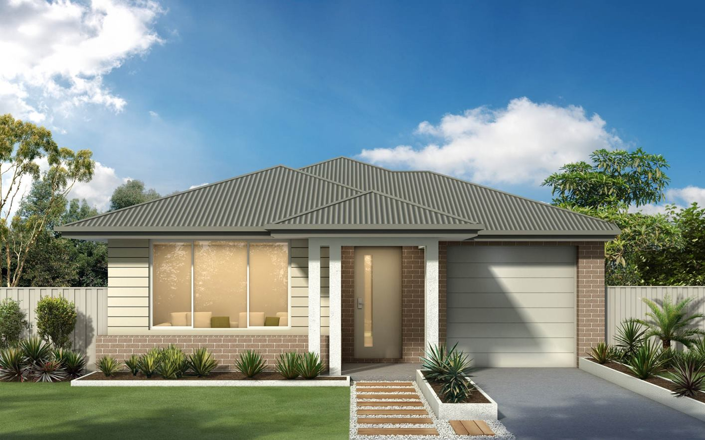 Thrive Homes Haven Home Design with Airlie Facade