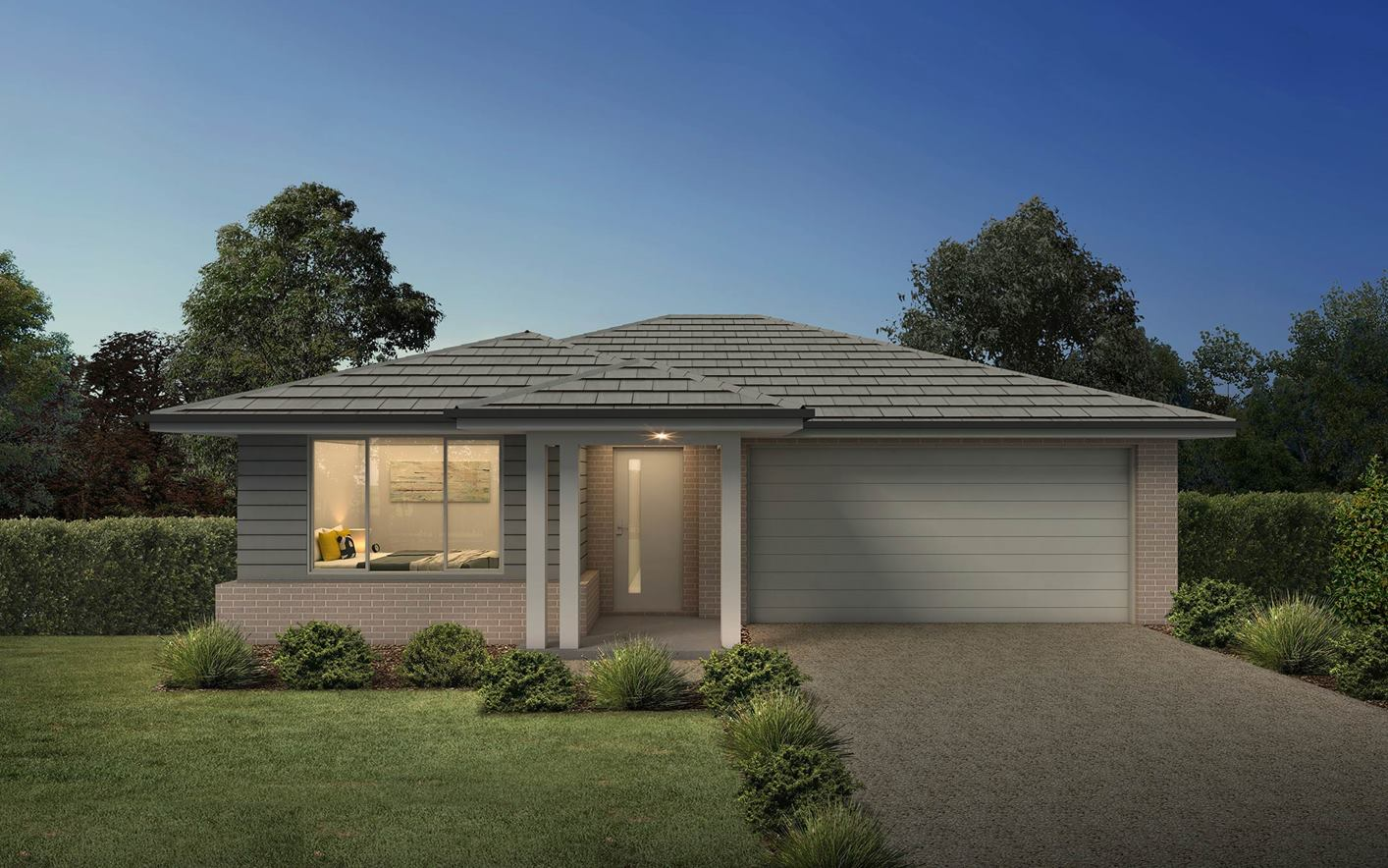 Thrive Homes Helix House Plan Airlie Facade