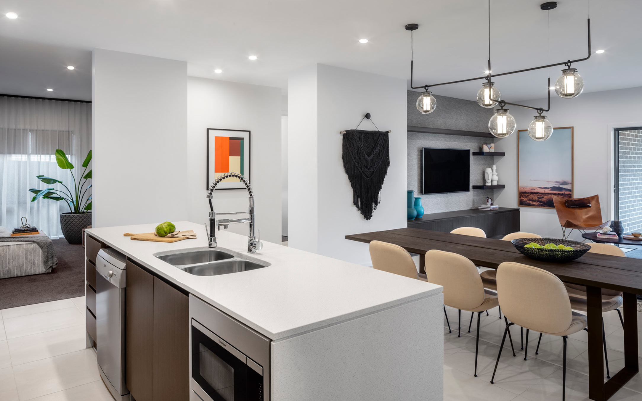 Thrive Homes Helix House Design Kitchen and Dining at Spring Farm