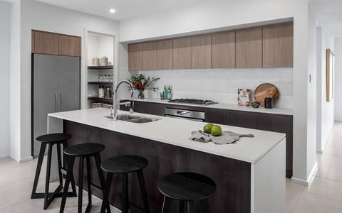 Thrive Homes Helix House Design Kitchen at Spring Farm