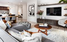 Thrive Homes Helix Home Design  Lounge and Dining