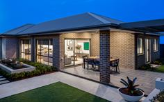 Thrive Homes Helix Home Design Outdoor Patio