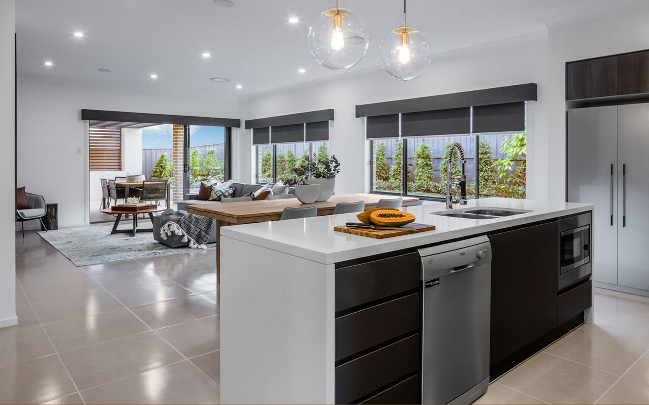 Thrive Homes Helix Home Design Kitchen and Dining