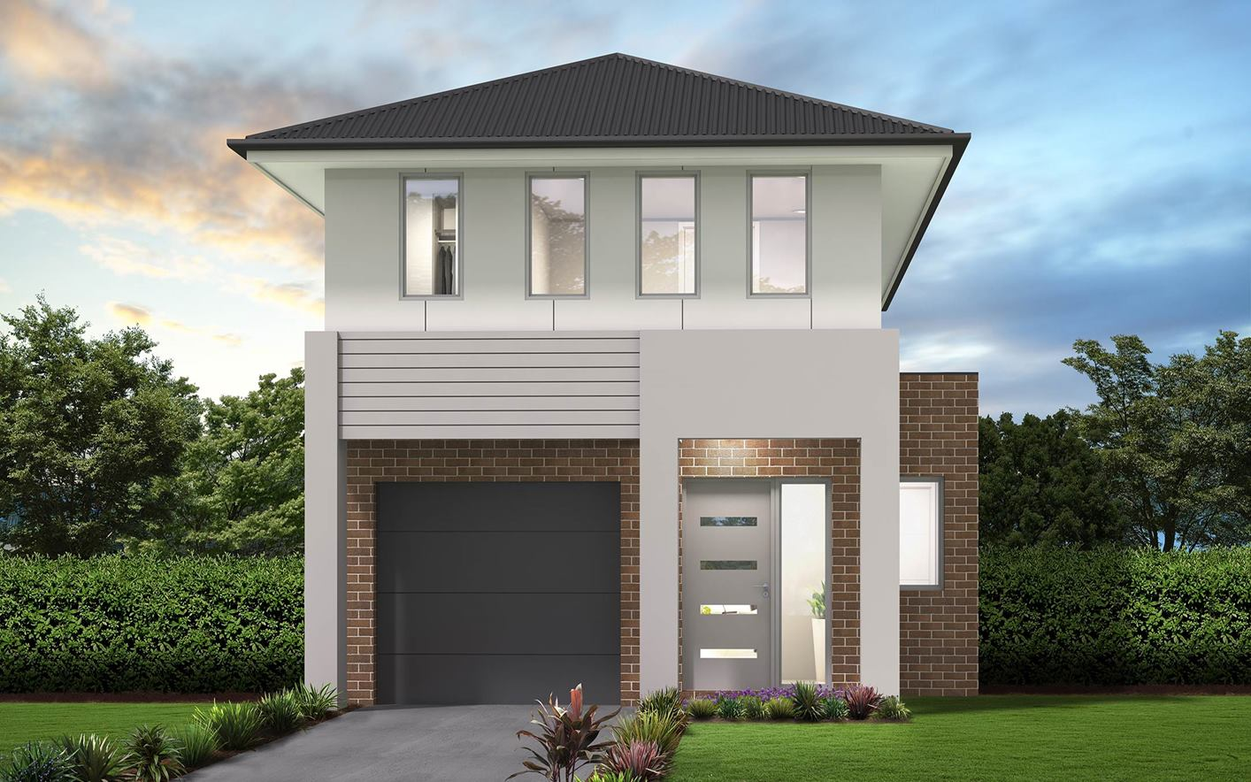 Thrive Homes Kyro Home Design Urban Facade