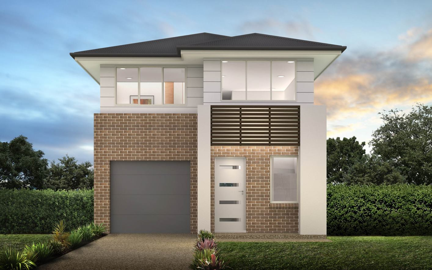 Thrive Homes Rayna Home Design with Vogue Facade