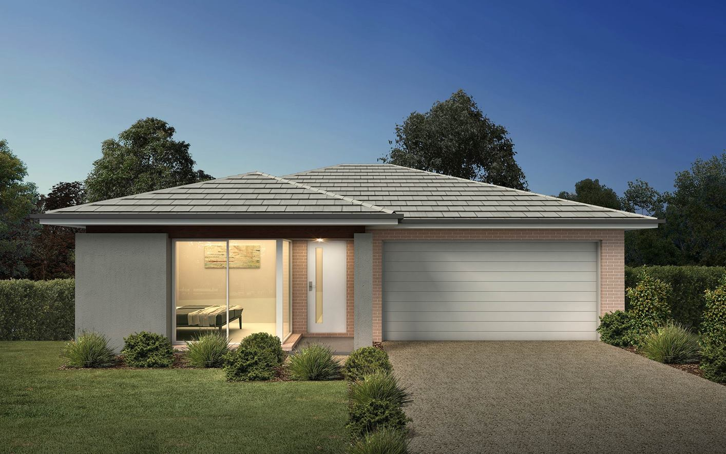 Thrive Homes Rise Home Plan with Ascot Facade