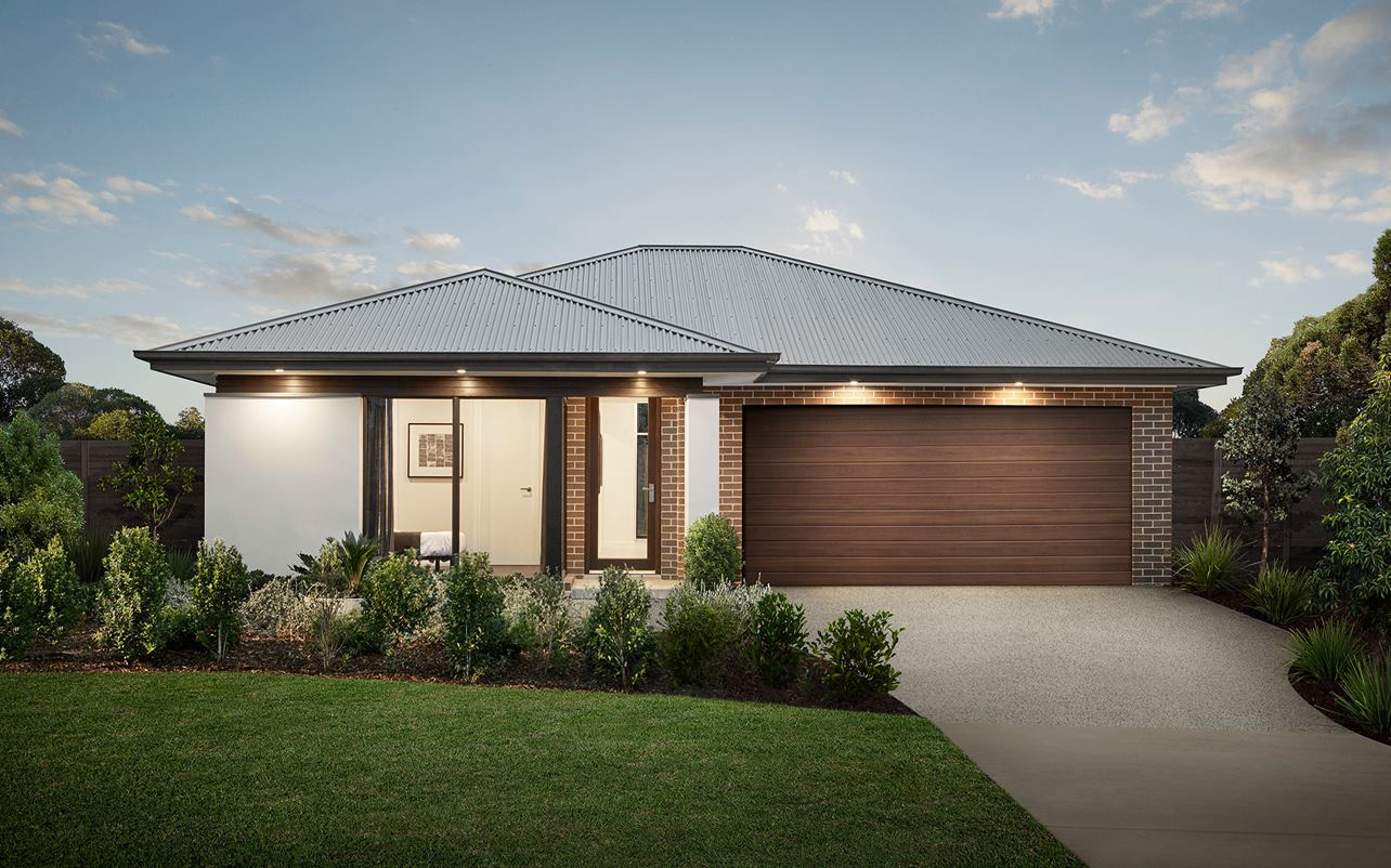 Sienna Home Design Ascot Facade at Airds Display Village
