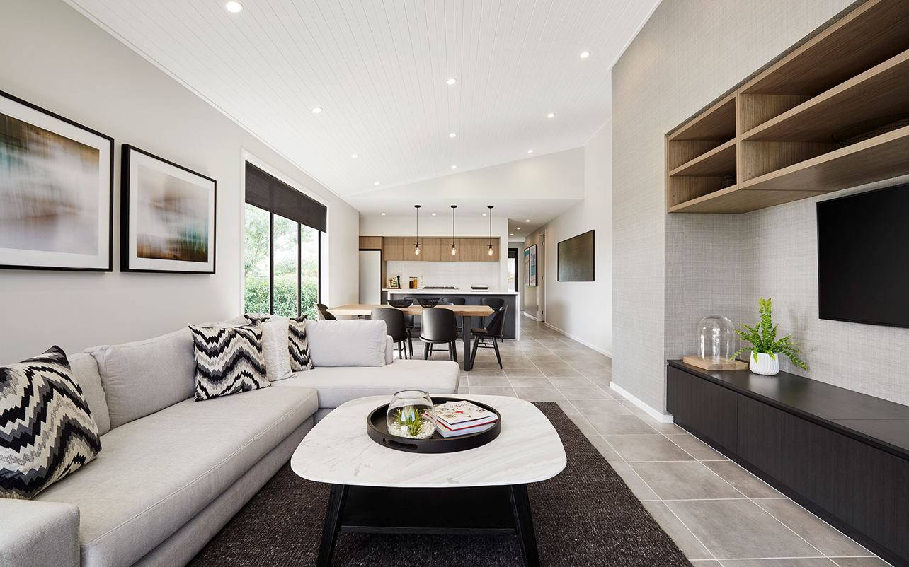 Sienna Home Design Lounge Area at Airds Display Village