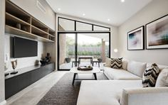 Sienna Home Design Lounge Room at Airds Display Village