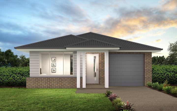 Thrive Homes Verve House Plan with Airlie Facade
