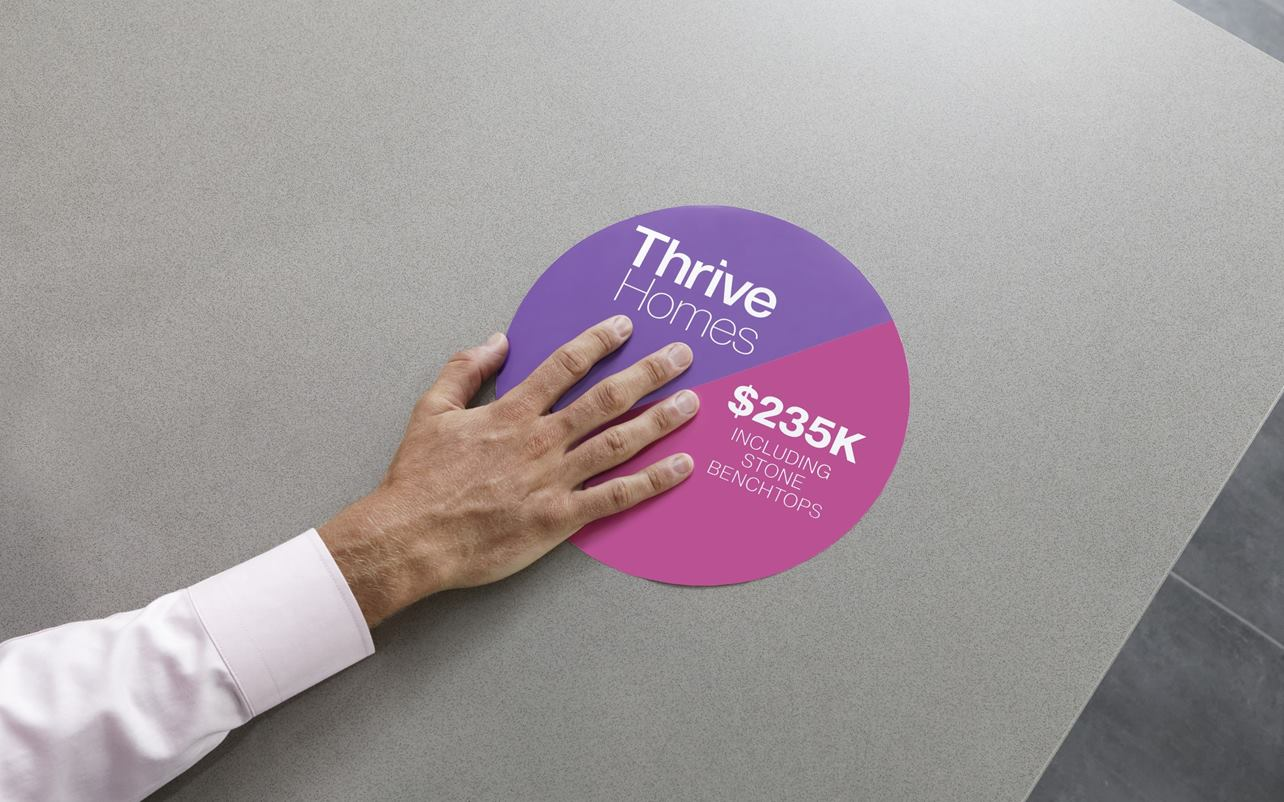 Thrive Homes Hero Campaign