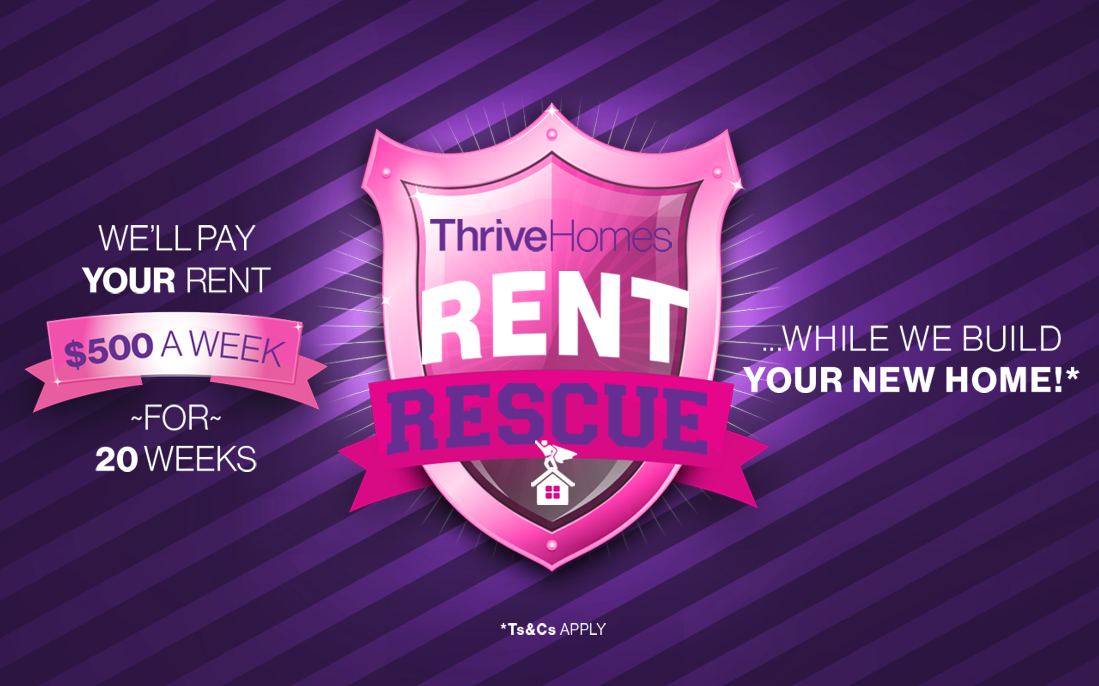 Thrive Homes Rent Rescue Promotion